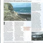 Article from Outdoor Swimmer magazine about Dancing Ledge